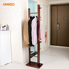New china products wood coat rack stand