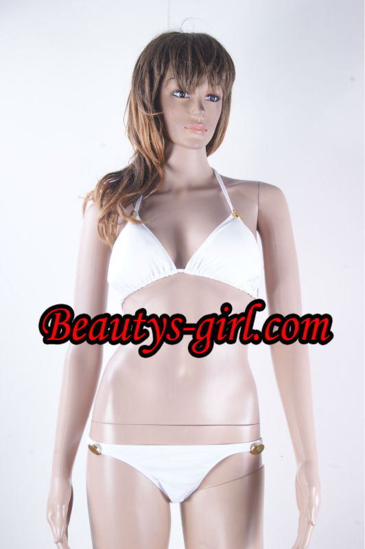 Fashion Rose PVC Sexy Micro Bikini Charming Girls
