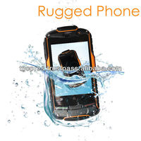 Brand New Original AGM ROCK V5 New Version Android4.0.4 dual core 512MB RAM + 4GB ROM 3G waterproof rugged phone