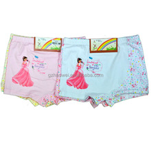 Wholesale Good Quality Cute Cartoon Baby Underwear For Girls