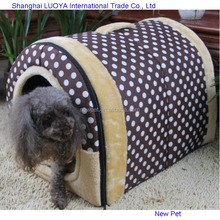 Direct factory hotsell retro style arched sponge tent simple foldable dogs house