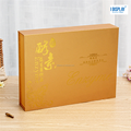 elegant gold luxury/cosmetics paper packing box