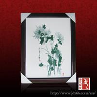 Jingdezhen hand-painted ceramic wall tile