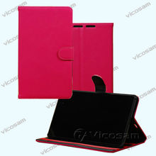 "Book Stand Leather Case for Microsoft Surface PRO 3 Tablet 12"" inch"