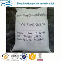 Prepared breakfast cereals used livestock dicalcium phosphate