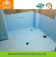 Interior buildings liquid polyurethane building coating
