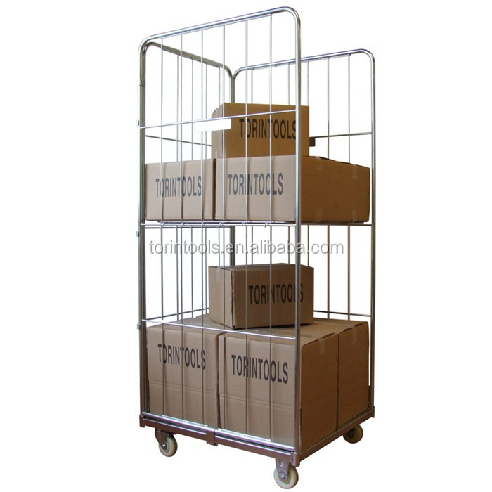 Wire Rolling SWK1001 Warehouse Safety Portable Storage Cage