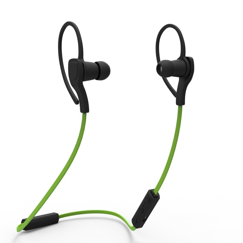 Fashion in-ear stereo bluetooth headset portable bluetooth earphone for sport running wireless headphones Noise Cancelling