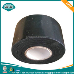 Butyl rubber coated polyethylene tape for gas pipeline