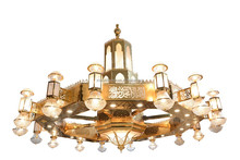 Arabic style large chandelier for hotel lobby project light