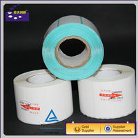 blank roll adhesive label sticker for barcode printing