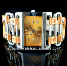 roles watches women, alloy mixed leather watch, skeleton and smart watch