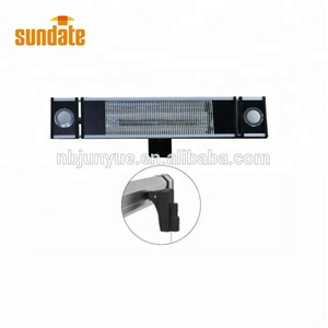 2018 High Quality Custom Wholesale wall mounted bathroom Infrared electric heater with CE certificate