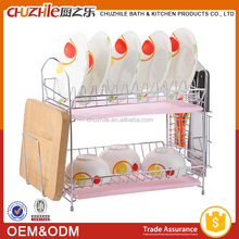 China Supplier Commercial Kitchen Stainless Steel Cabinet dish drying rack