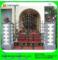 Chinese Manufacturer Price Wrought Iron Gates Models for Outdoor