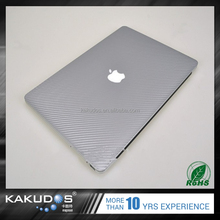 Factory Wholesale Bubble Free Carbon Fiber Sticker Skin for laptop