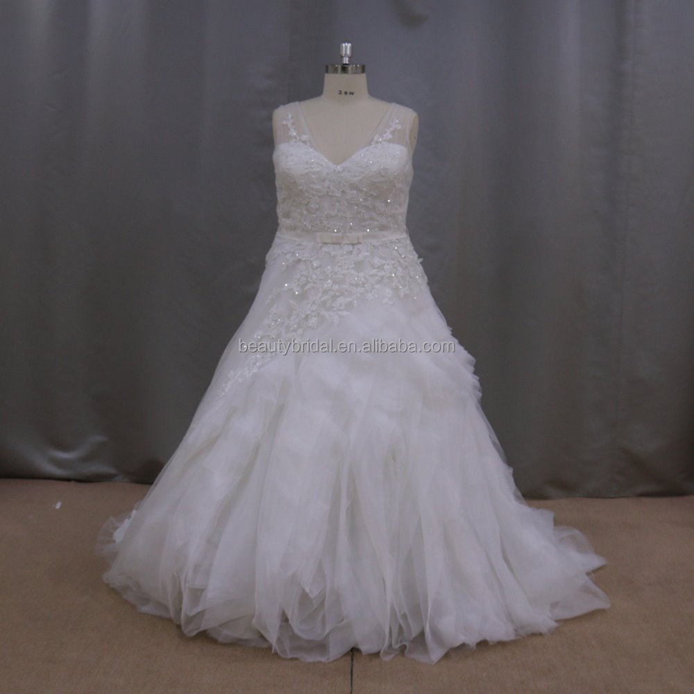 Chinese fat size wedding gowns for fat bride designer wedding dresses in karachi