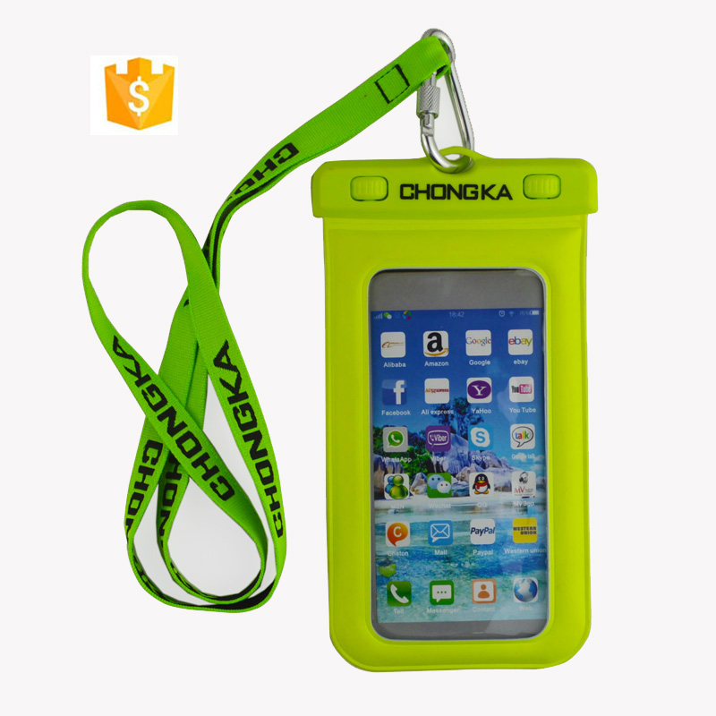 2018 Cheap and Cute Pvc Waterproof bag for Ipad Mini with string