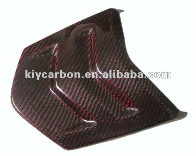 red color kalver carbon fiber motorcycle parts Seat Cover for Suzuki B-king