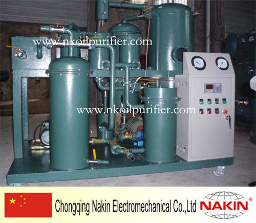 Trailer type TPF-10 dirty (frying) cooking oil purifier/treatment plant