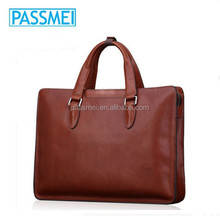custom design man leather briefacse,brands leather man briefcase,high quality leather briefcase