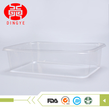 high quality regular disposable clear stackable plastic tray for sale