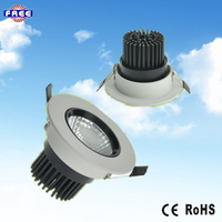 Aluminum led ceiling light function for indoor round led down light housing