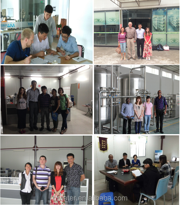 hongjun commercial grey ultrafltration water filtering-UF dringking Purification system