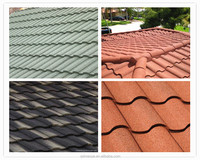 Factory direct sales of high-grade french stone-coated metal roof tile
