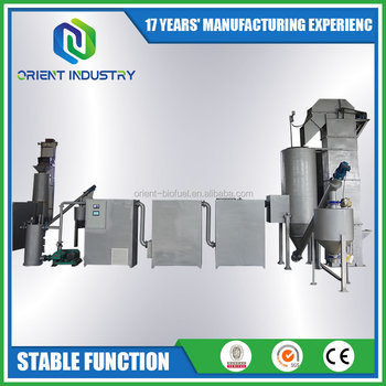 Biomass and Wood Downdraft Gasifier Power Plant