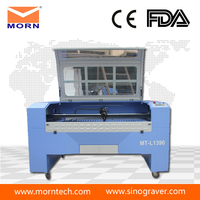 high precision co2 laser cutting machine jewelry with rotor 1390