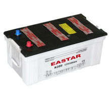 JIS Standard Dry car batteries N200 12V lead acid battry 200Ah