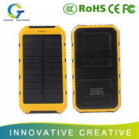 Sell well new type waterproof solar mobile power bank