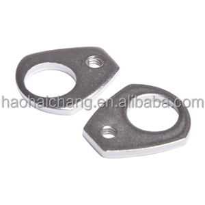 Double holes triangle washer for car/auto fastener