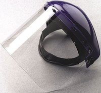 transparent petg visor and pc visor full face shield visor manufacturer pass ANSI/ISEA Z87.1-2010