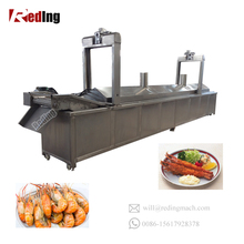 Industrial Gas Fryer/Continous Fried Chicken Deep Fryer Machine For Sale