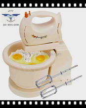 FUNCTION OF ELECTRIC INDUSTRIAL STAND HAND MIXER WITH ROTATING BOWL