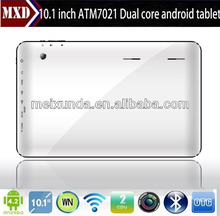 10.1Inch Android Tablet, Allwinner ATM7021 Dual Core Android 4.2 Dual Camera android tablet