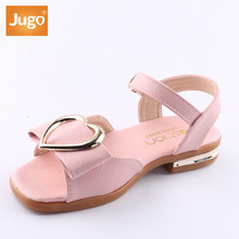 2018 New Girls Korean Casual Student Sandals Rubber Bottom Toe Princess Shoes