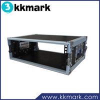 3 Space Rackmount Flight Case with 18 Inch Body Depth