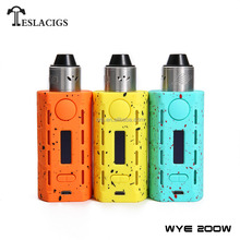 Wholesale Lightest Dual 18650 Device Tesla WYE 200W Good Hand Feeling Vape Mods From Teslacigs Factory