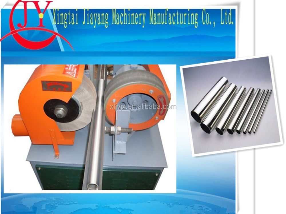 china Six Group Grinding Steel Tube Polishing Machine