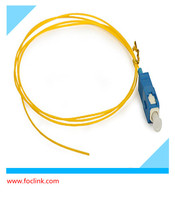 Ampbrand Pigtail SM 9/125 12 Straints SC,Fiber Optic Pigtail 12-splice pack,ISO Certified Single Mode 9/125um SC/UPC 3 Meter