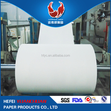 PE Film Wrapped White Coated SUN Paper in Rolls