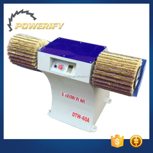 Powerify Brand DTW-60A Woodworking Machinery Horizontal Two Axis Manual Brush Polishing Sanding Machine