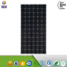 2017 hot sale 100 watt 300 watt 1000 watt solar panel for home solar system