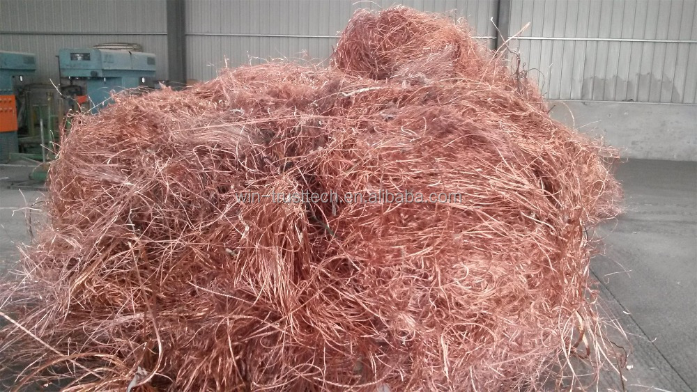 copper wire scrap 99.99% Purity Copper Wire scrap/ bare bright copper scrap