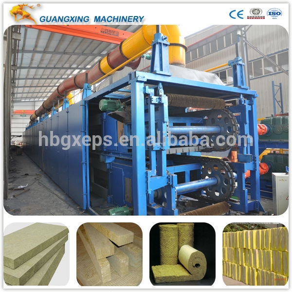 Professional manufacture made glass wool board equipment with good price
