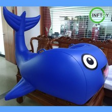 2018 Newest design cute water pool float giant inflatable whale float
