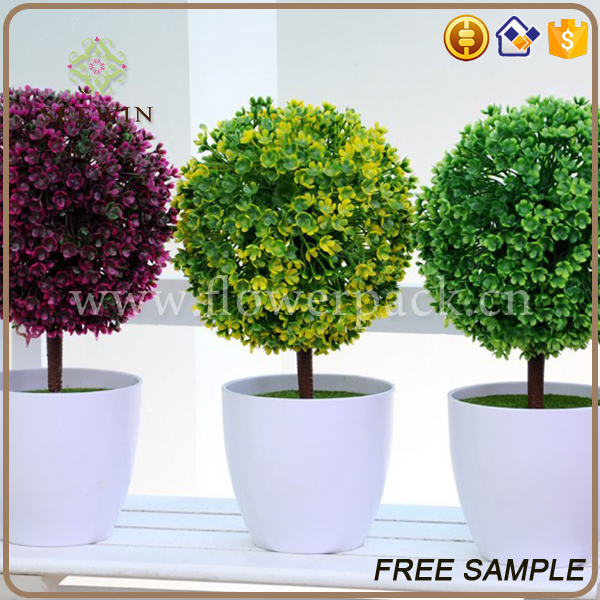 luxury decoration home artificial plant with roots